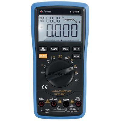 Multímetro Digital 600V Minipa ET-2402B ET-2402B