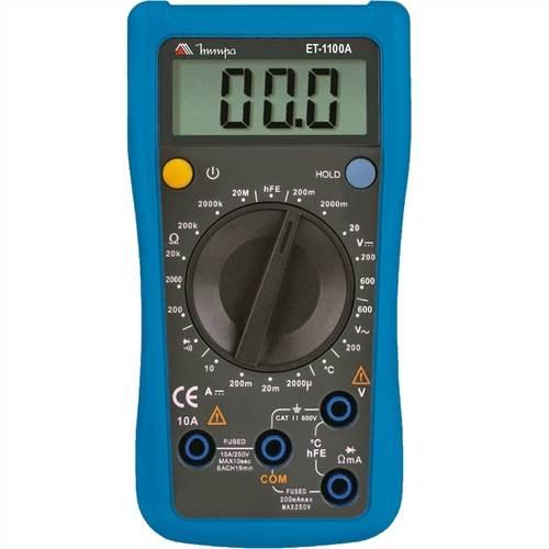 Multímetro Digital Ac e Dc Et-1110a Minipa