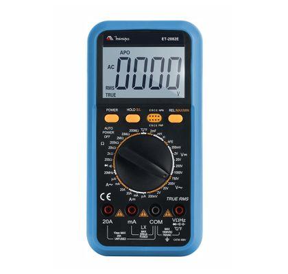 Multímetro Digital CAT III 600V True RMS Minipa ET-2082E ET-2082E