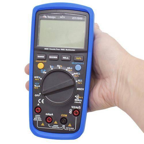 Multímetro Digital CATIII TRUE RMS ET-1649 Minipa
