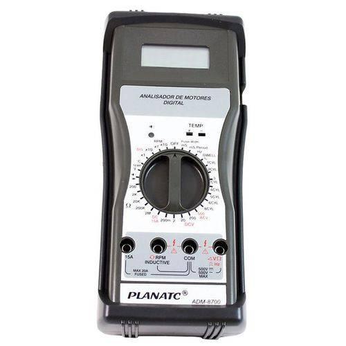 Multímetro Digital de Motores Automotivos Planatc-adm8700