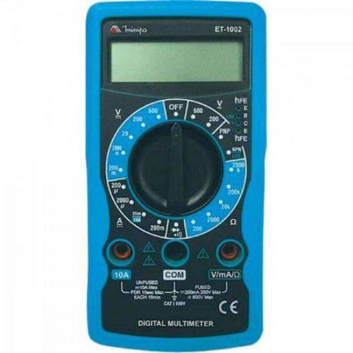Multímetro Digital Et-1002 Minipa