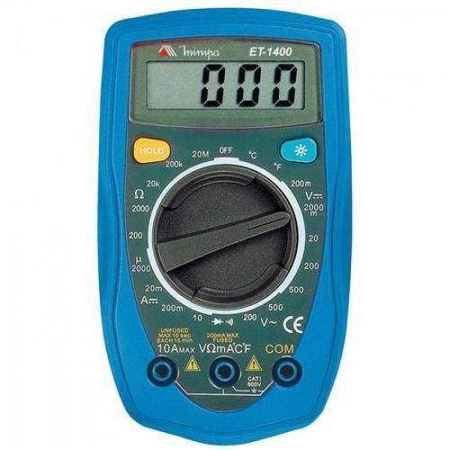 Multimetro Digital Et-1400 Minipa
