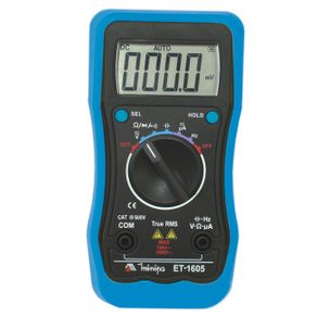 Multímetro Digital ET-1605 Minipa