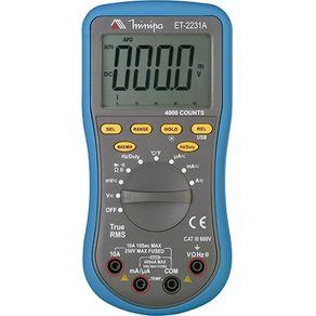 Multímetro Digital ET-2231A Minipa