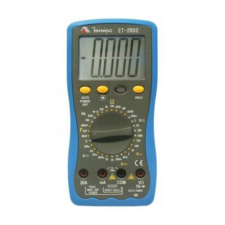 Multímetro Digital - ET-2652