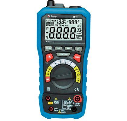 Multímetro Digital EZ-51 Minipa 5 em 1 EZ-51