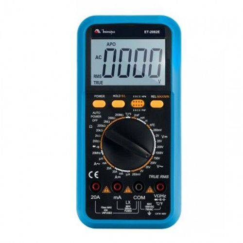 Multímetro Digital Minipa Et-2082e
