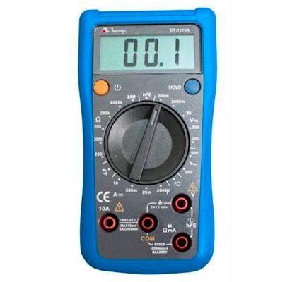 Multímetro Digital MINIPA ET-1110A CAT II 600V ET-1110A