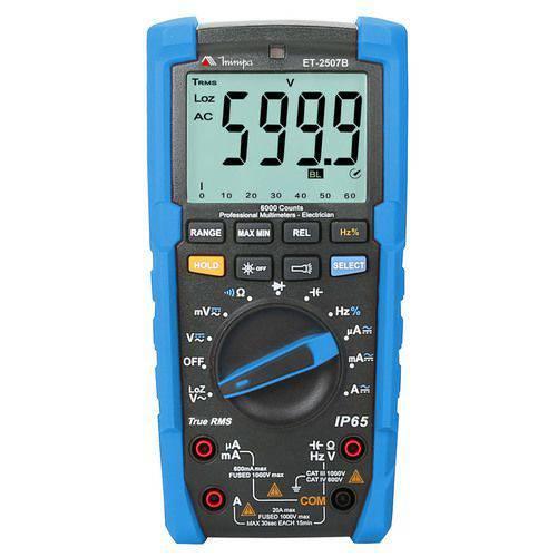 Multímetro Digital Minipa Et-2507b