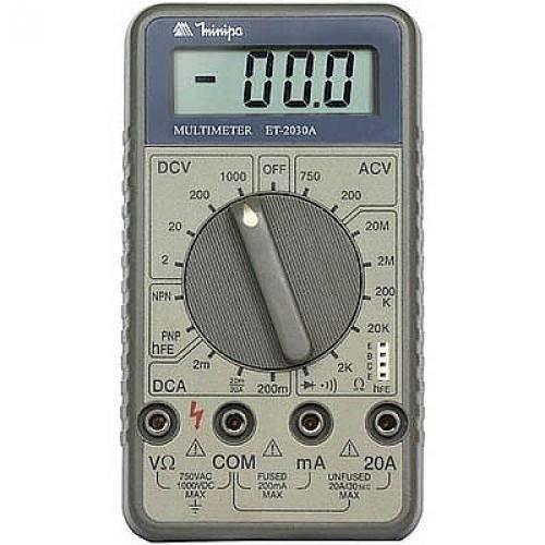 Multímetro Digital Minipa ET2030A