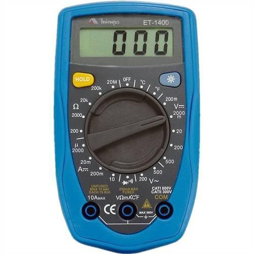 Multímetro Digital Minipa ET1400