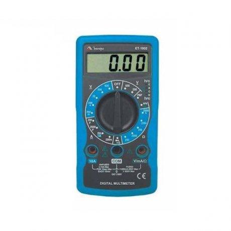 Multímetro Digital Portátil - 600V - CATI - ET-1002 - Minipa