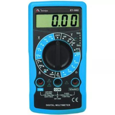 Multímetro Digital Profissional Et-1002 Minipa ET-1002