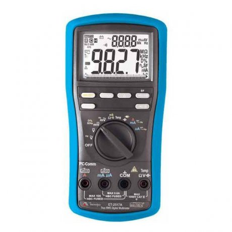 Multímetro Digital True RMS - 1000V - CATIV - ET-2517A - Minipa
