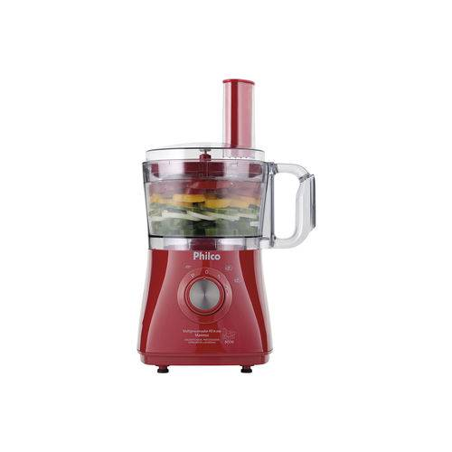 Multiprocesssador Philco All In One Maximus Vermelho 800w