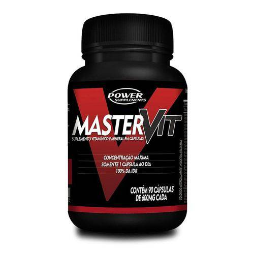 Multivitaminico Master Vit 90 Cápsulas - Power Supplements