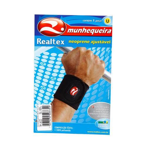 Munhequeira Neoprene Realtex - Rx0865h - Preto