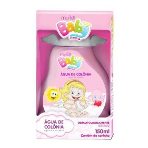 Muriel Baby Água Colônia Rosa 150ml