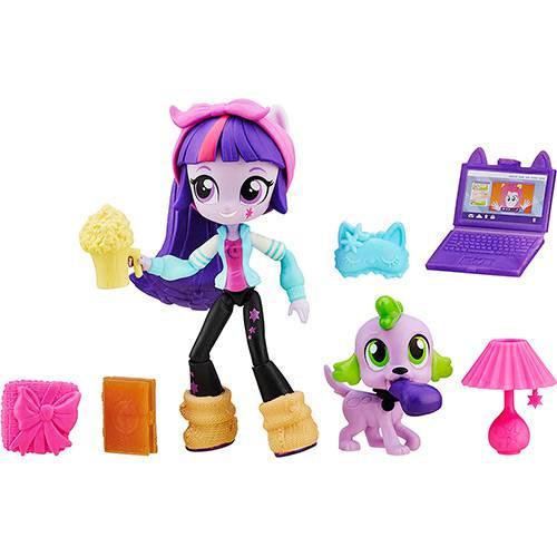 My Little Pony Equestria Girls Minis com Acessórios Twilight Sparkle - Hasbro