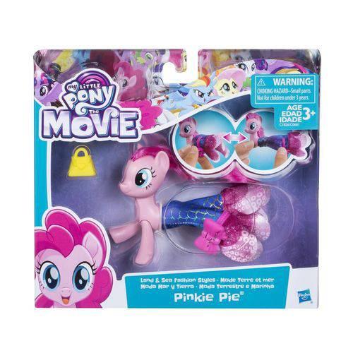 My Little Pony Moda Terrestre e Marinha Pinkie Pie - Hasbro