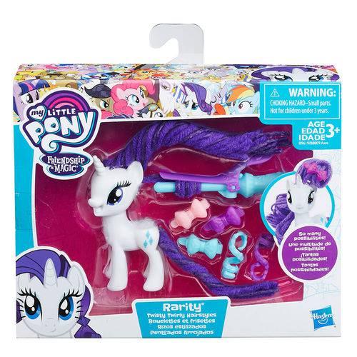 My Little Pony Penteado de Gala Rarity - Hasbro