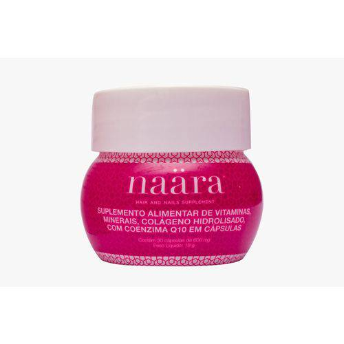 Naara Beauty Cápsulas - Colágeno com Q10 e Biotina
