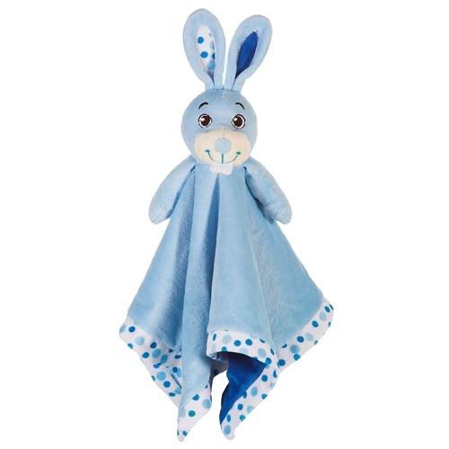 Naninha Coelho Azul em Plush Sonho de Luz