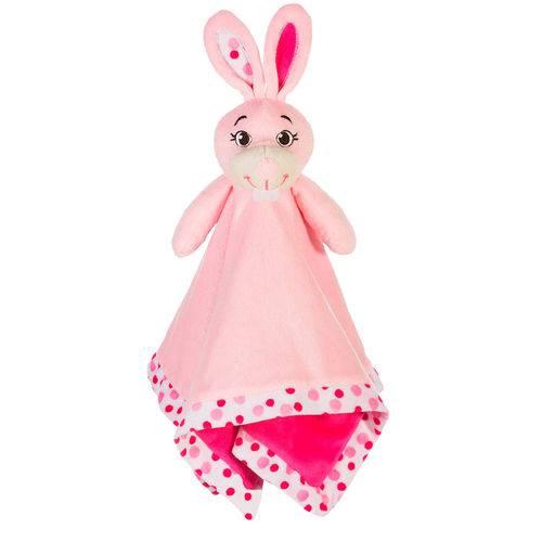 Naninha de Plush Coelhinha Rosa - Sonho de Luz
