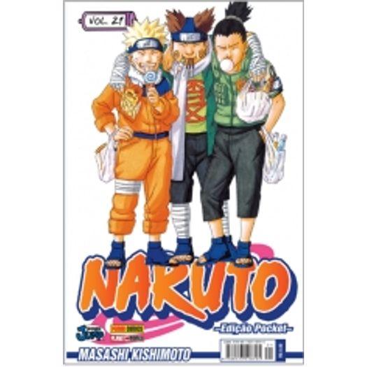 Naruto Pocket 21 - Panini