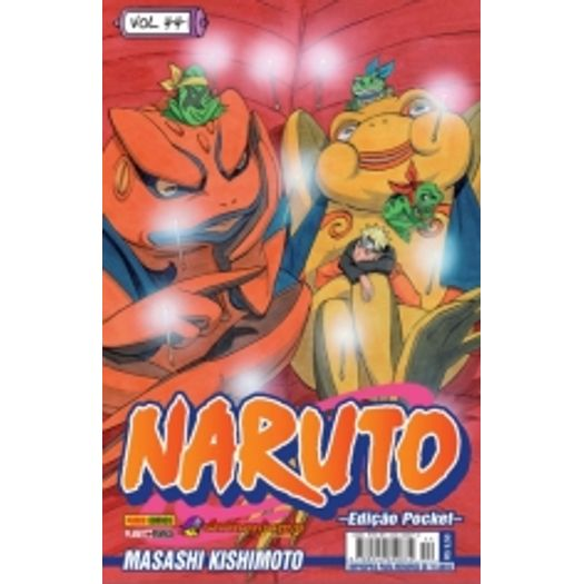 Naruto Pocket 44 - Panini