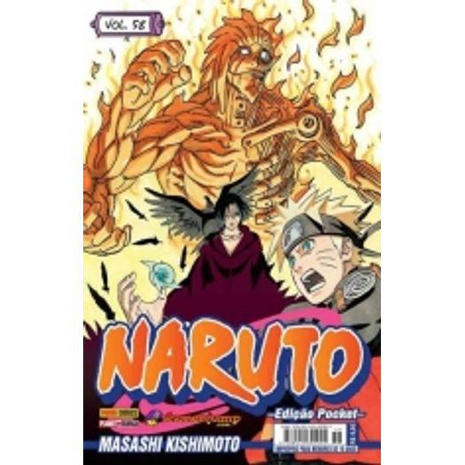 Naruto Pocket 58 - Panini