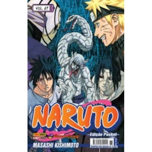 Naruto Pocket 61 - Panini