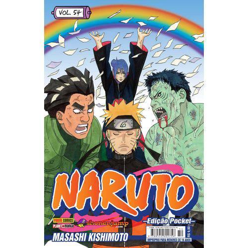 Naruto Pocket Vol. 54