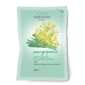 Naturals Erva Doce e Capim-limão Refil Sabonete Líquido para as Mãos 250ml