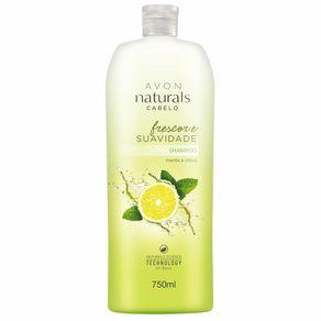 Naturals Frescor e Suavidade Menta e Citrus Shampoo 750 Ml