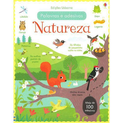 Natureza - Palavras e Adesivos