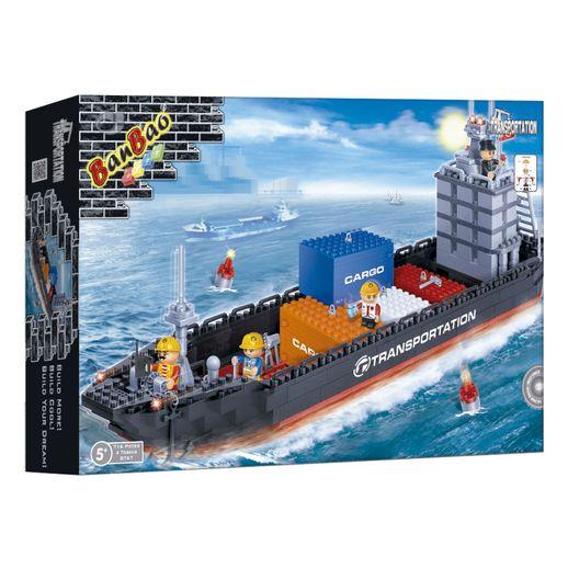 Navio Container 716 Peças - Banbao