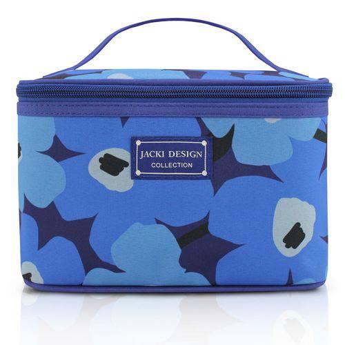 Necessaire Jacki Design Frasqueira Azul