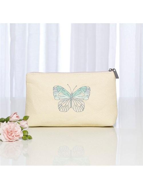 Nécessaire Mini Papillon Nude 19X5X11