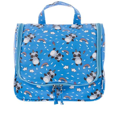 Necessaire STZ Grande Panda Ninja Azul -