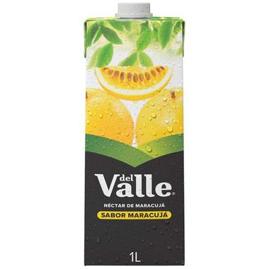 Néctar de Maracujá Del Valle 1L