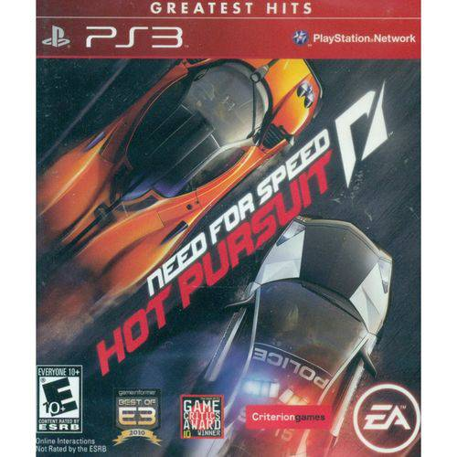 Need For Speed Hot Pursuit Greatest Hits - Ps3