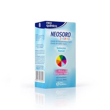 Neosoro Gotas Nasais Infantil com 30ml