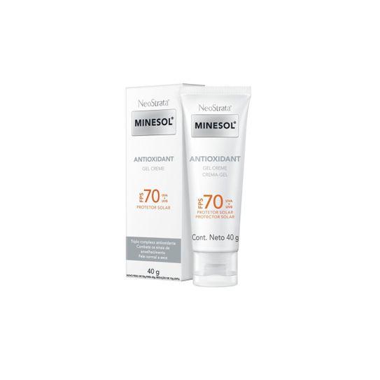 Neostrata Minesol Protetor Solar Facial Antioxidante Fps 70 40g