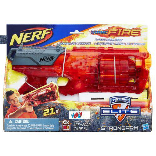 Nerf Excl Elite Sonic F Strongarn - B5993