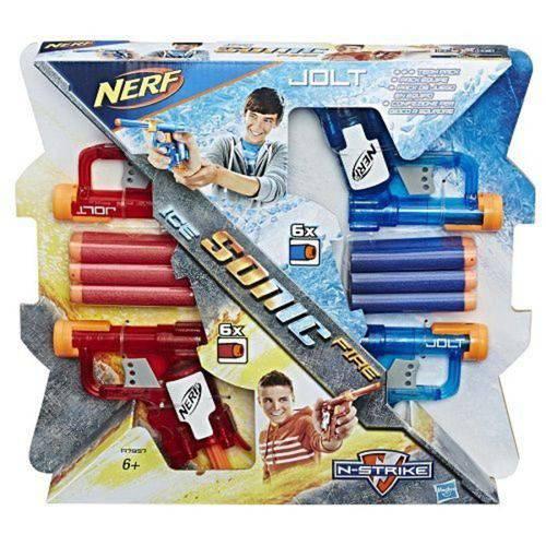 Nerf KIT com 4 Sonic Fire & ICE JOLT Hasbro 13228 A7957
