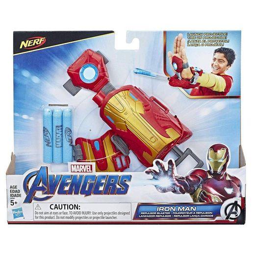Nerf Lançador de Dardos Repulsor Homem de Ferro - Hasbro