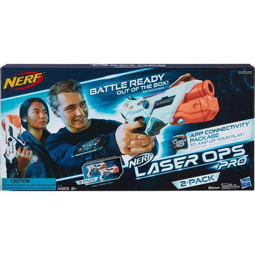 Nerf LASER Ops Two Pack Hasbro E2281