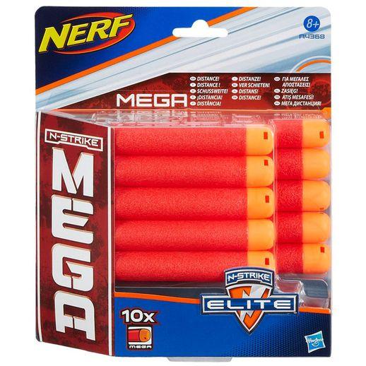 Nerf Mega Refil com 10 Dardos - Hasbro